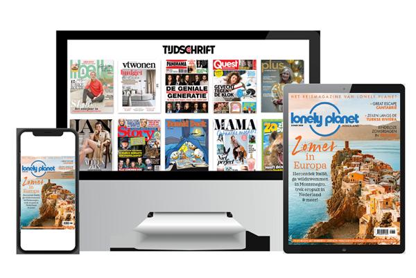 Lonely Planet Magazine digitaal lezen