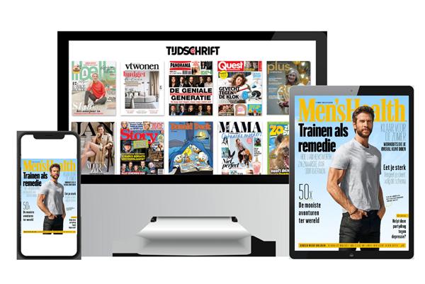 Men's Health digitaal lezen