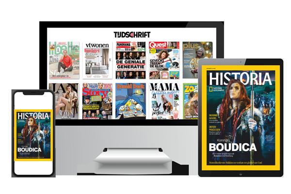 National Geographic Historia digitaal lezen