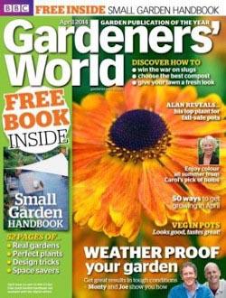 BBC Gardeners World aanbiedingen voor een abonnement of proefabonnement