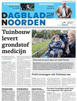 Dagblad van het Noorden aanbiedingen voor een abonnement of proefabonnement