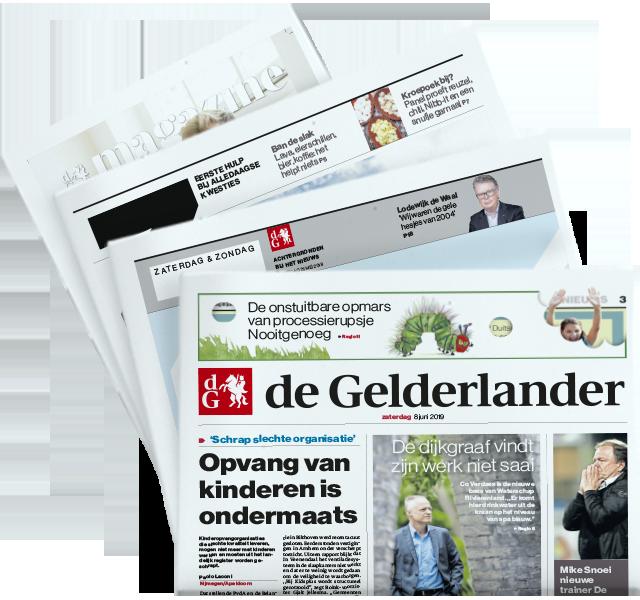De Gelderlander op zaterdag met Z, ZO en De Gelderlander Magazine