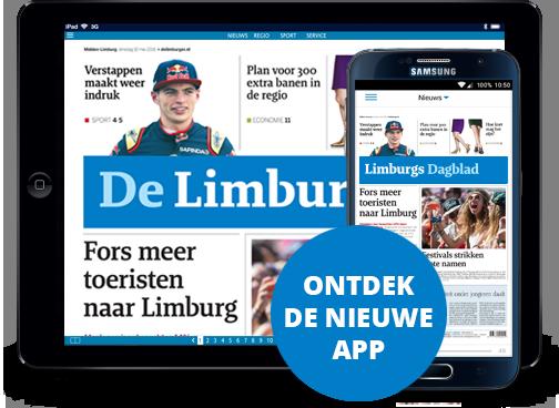De Limburger op iPad en digitaal