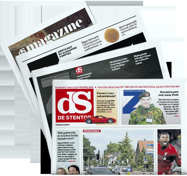 Stentor op zaterdag met Z, ZO en De Stentor Magazine