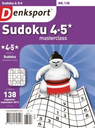 Denksport Sudoku masterclass 4-5 sterren aanbiedingen