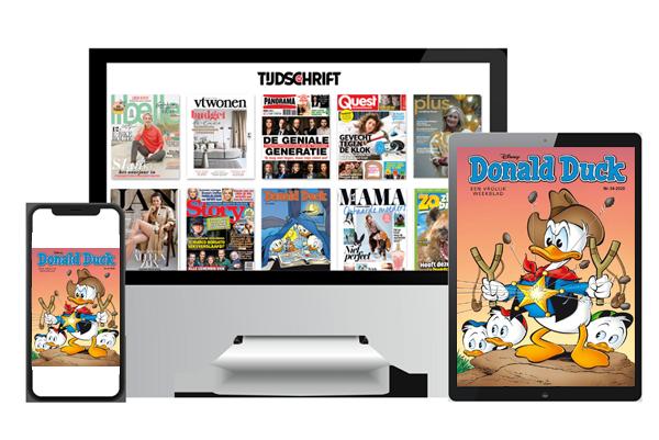 Donald Duck digitaal lezen