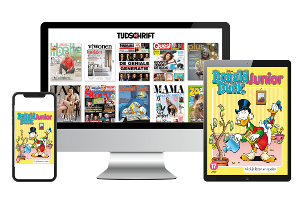 Donald Duck Junior digitaal lezen