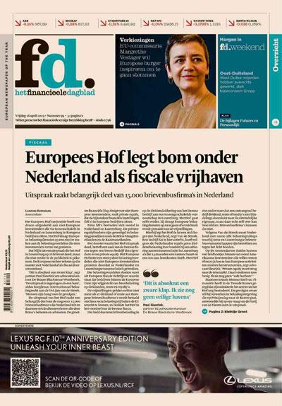 FD - Het Financieele Dagblad aanbiedingen