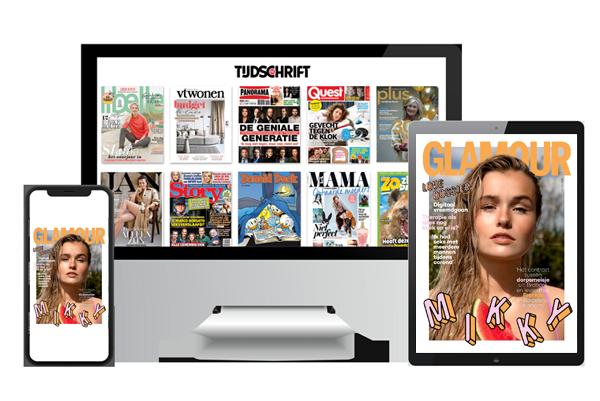 Glamour digitaal lezen