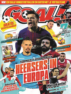 GOAL! magazine aanbiedingen voor een abonnement of proefabonnement