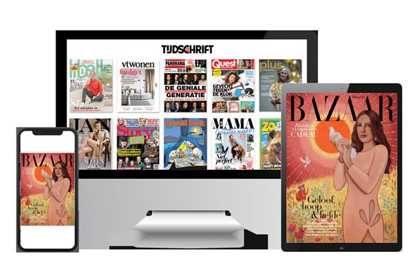 Harper's Bazaar digitaal lezen