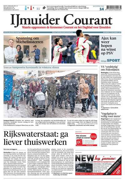 IJmuider Courant Zaterdag aanbiedingen