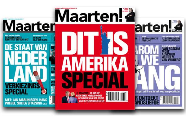 Maarten magazine digitaal lezen