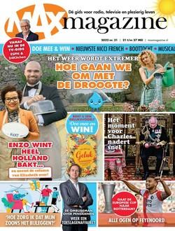 MAX Magazine aanbiedingen voor een abonnement of proefabonnement