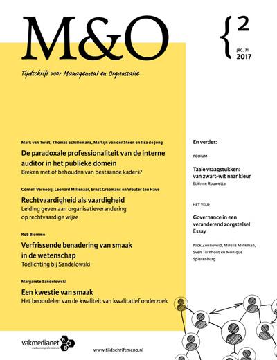 M&O Tijdschrift voor Management en Organisatie aanbiedingen