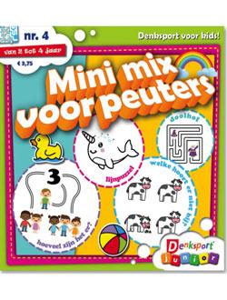 Denksport Mini Mix voor Peuters aanbiedingen voor een abonnement of proefabonnement