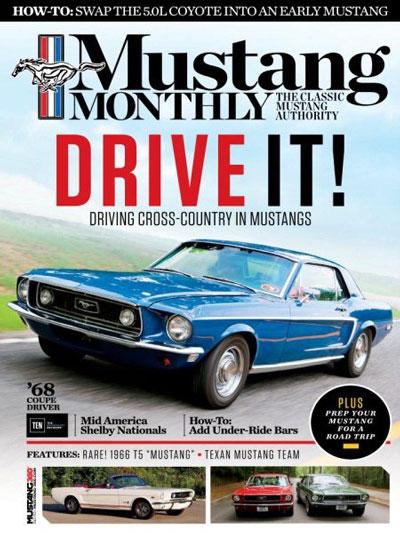 Mustang Monthly  aanbiedingen