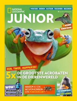National Geographic Junior aanbiedingen voor een abonnement of proefabonnement