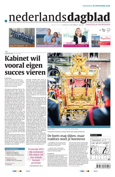 Nederlands Dagblad aanbiedingen