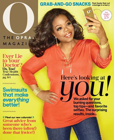O The Oprah Magazine aanbiedingen