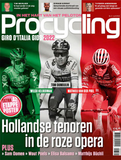Procycling aanbiedingen voor een abonnement of proefabonnement