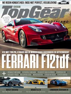 Top Gear Magazine aanbiedingen voor een abonnement of proefabonnement