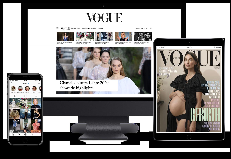 Vogue digitaal lezen