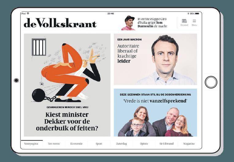 De Volkskrant tablet editie