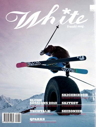 White Freeski Magazine  aanbiedingen