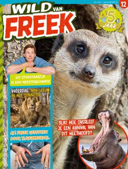 Wild van Freek aanbiedingen voor een abonnement of proefabonnement