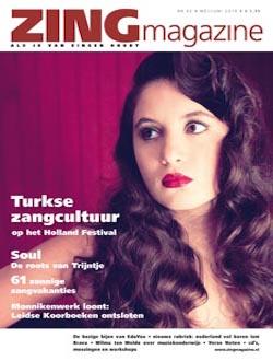 Zing Magazine  aanbiedingen voor een abonnement of proefabonnement